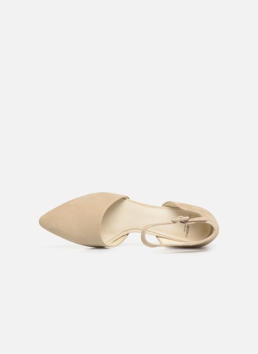 Décolleté Vagabond Shoemakers Mya 4519-040 Beige immagine sinistra