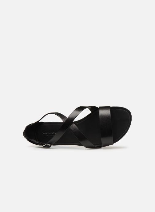 Sandalias Vagabond Shoemakers Tia 4531-001 Negro vista lateral izquierda