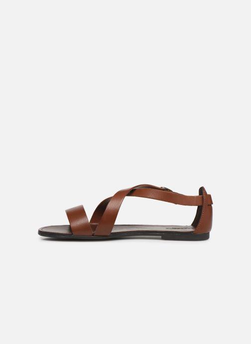Sandals Vagabond Shoemakers Tia 4531-001 Brown front view