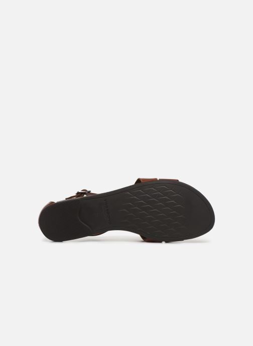 Sandals Vagabond Shoemakers Tia 4531-001 Brown view from above