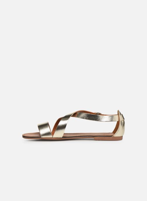 Sandals Vagabond Shoemakers Tia 4531-083 Bronze and Gold front view
