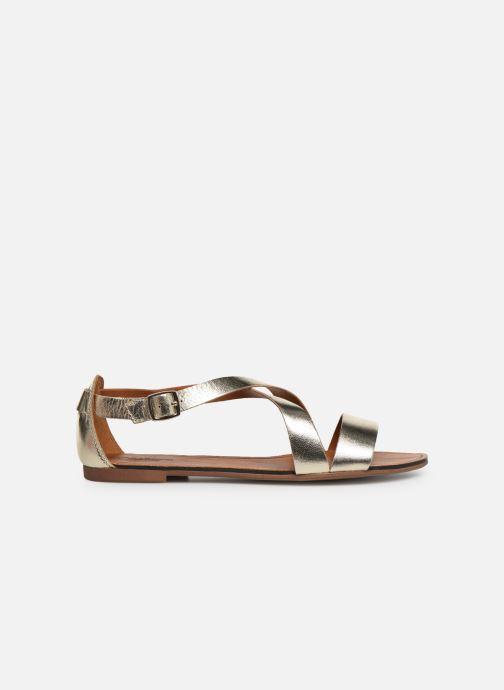 Sandals Vagabond Shoemakers Tia 4531-083 Bronze and Gold back view