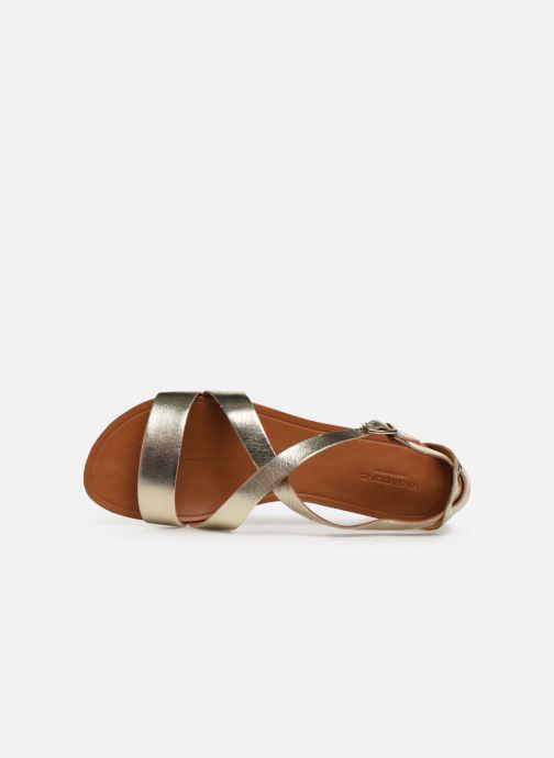 Sandales et nu-pieds Vagabond Shoemakers Tia 4531-083 Or et bronze vue gauche