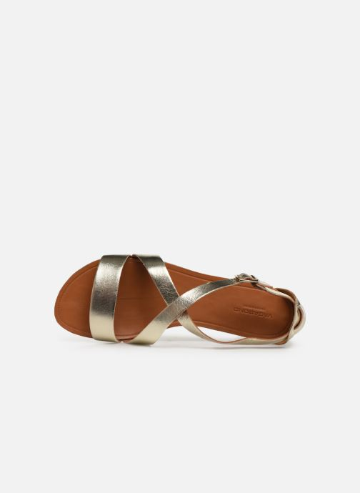 Sandals Vagabond Shoemakers Tia 4531-083 Bronze and Gold view from the left