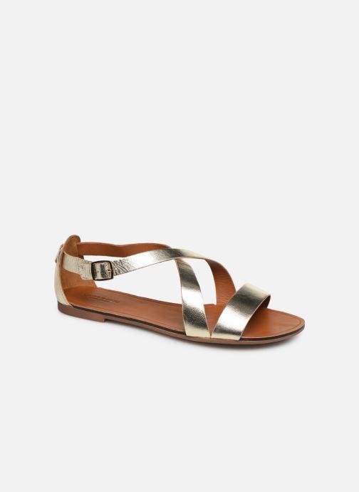 Sandalias Vagabond Shoemakers Tia 4531-083 Oro y bronce vista de detalle / par