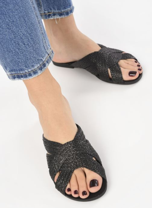 Clogs & Pantoletten Vagabond Shoemakers Tia 4531-580 schwarz ansicht von unten / tasche getragen
