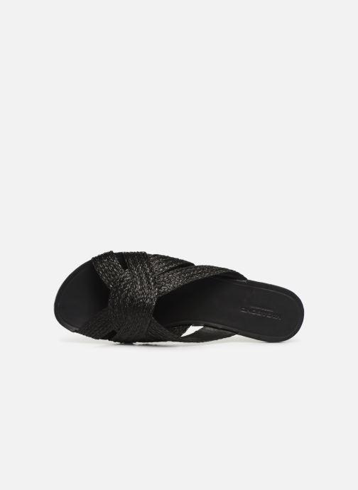 Zuecos Vagabond Shoemakers Tia 4531-580 Negro vista lateral izquierda