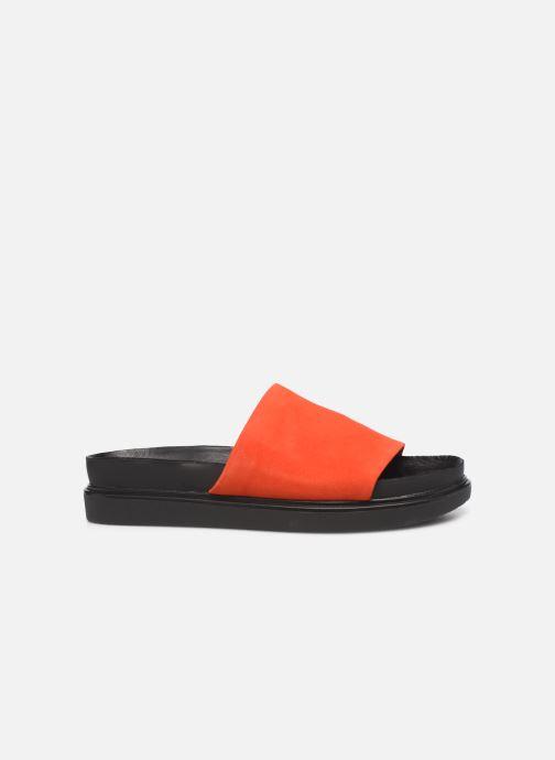 Zuecos Vagabond Shoemakers Erin 4532-040 Rojo vistra trasera