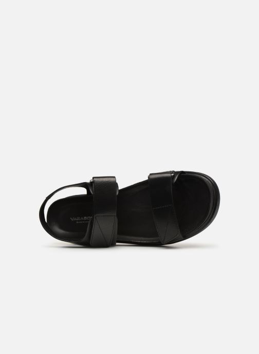 Sandalias Vagabond Shoemakers Erin 4532-101 Negro vista lateral izquierda