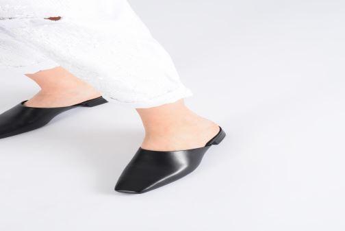 Zuecos Vagabond Shoemakers Nikki 4700-201 Negro vista de abajo