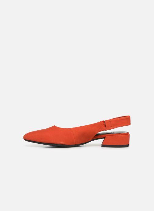 Ballerines Vagabond Shoemakers Joyce 4708-140 Rouge vue face