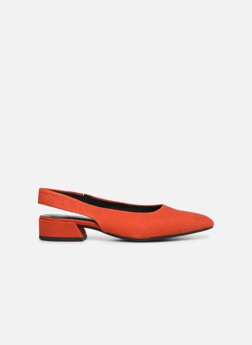 Ballerina's Vagabond Shoemakers Joyce 4708-140 Rood achterkant