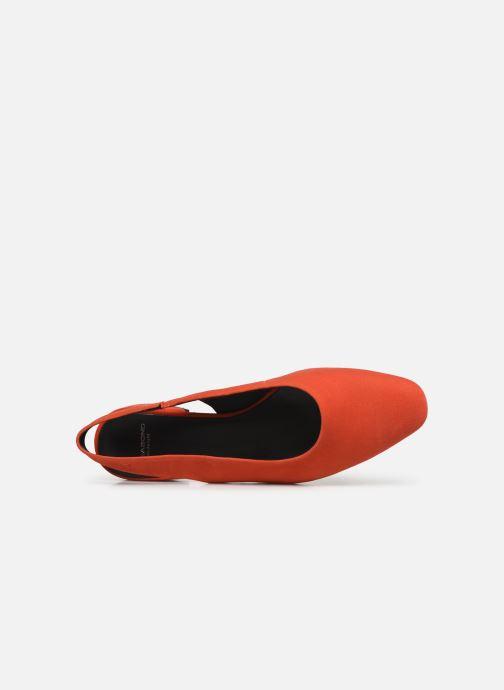 Bailarinas Vagabond Shoemakers Joyce 4708-140 Rojo vista lateral izquierda