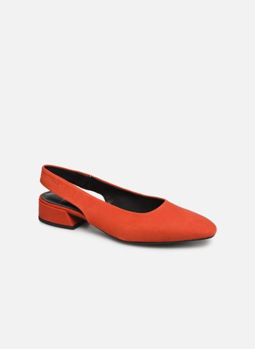 Bailarinas Vagabond Shoemakers Joyce 4708-140 Rojo vista de detalle / par
