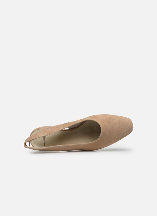 Ballerines Vagabond Shoemakers Joyce 4708-140 Beige vue gauche