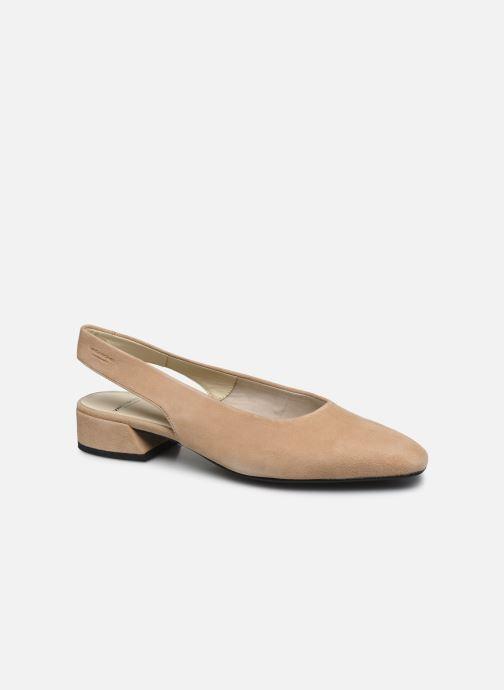 Ballerines Vagabond Shoemakers Joyce 4708-140 Beige vue détail/paire