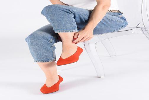 Escarpins Vagabond Shoemakers Minna 4711-240 Rouge vue bas / vue portée sac