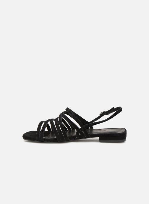 Sandales et nu-pieds Vagabond Shoemakers Becky 4715-140 Noir vue face