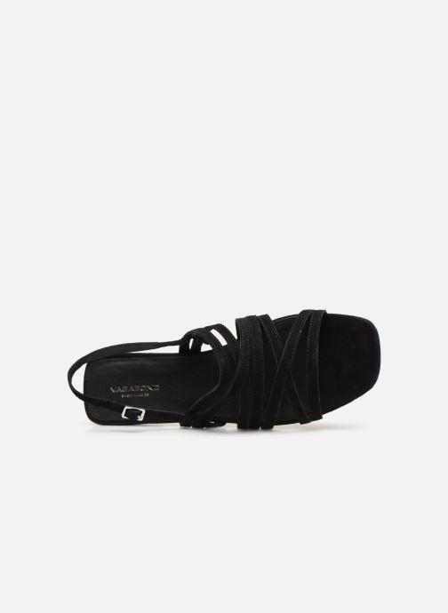 Sandales et nu-pieds Vagabond Shoemakers Becky 4715-140 Noir vue gauche