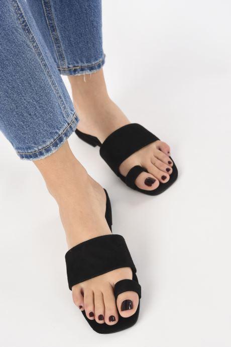 Zuecos Vagabond Shoemakers Becky 4715-240 Negro vista de abajo