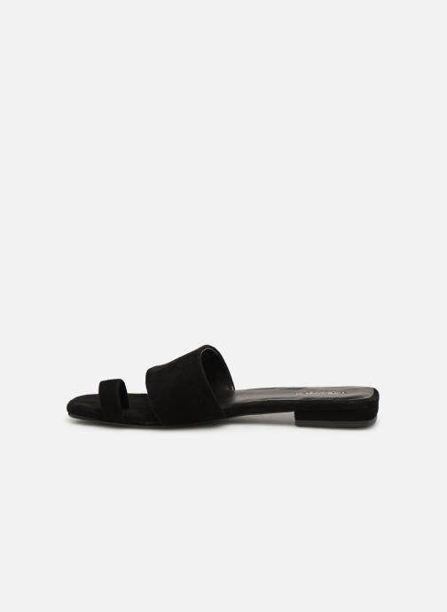 Zuecos Vagabond Shoemakers Becky 4715-240 Negro vista de frente