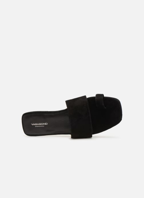 Zuecos Vagabond Shoemakers Becky 4715-240 Negro vista lateral izquierda