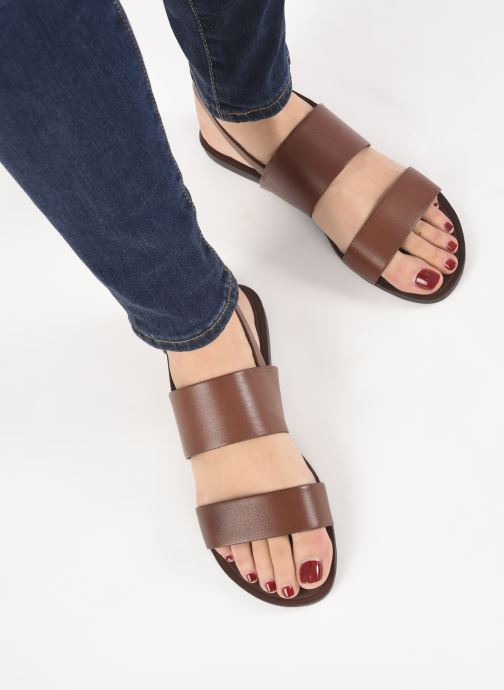 Sandals Vagabond Shoemakers Tia 4731-201 Brown view from underneath / model view