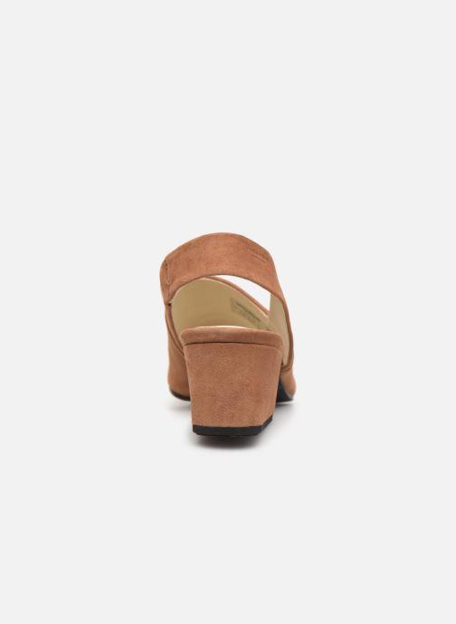 Sandaler Vagabond Shoemakers Elena 4735-040 Beige Bild från höger sidan