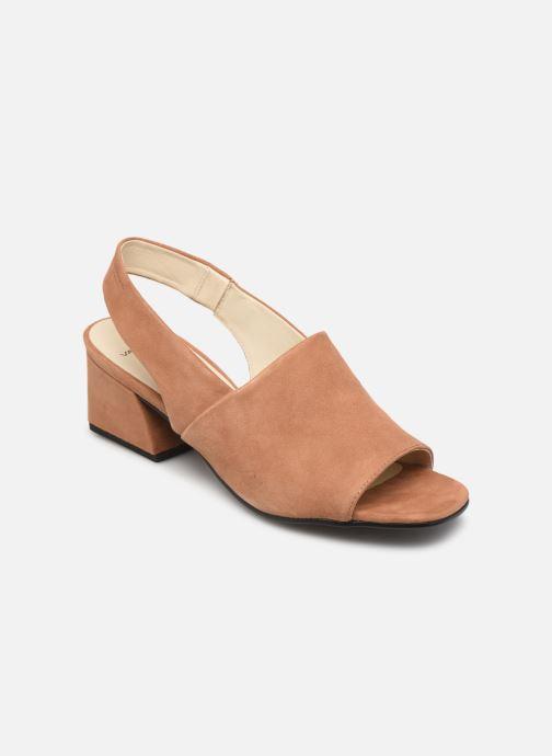 Sandaler Vagabond Shoemakers Elena 4735-040 Beige detaljeret billede af skoene