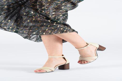 Sandales et nu-pieds Vagabond Shoemakers Carol 4737-001 Blanc vue bas / vue portée sac
