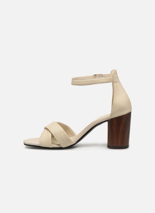 Sandales et nu-pieds Vagabond Shoemakers Carol 4737-001 Blanc vue face