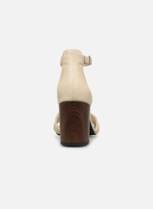 Sandali e scarpe aperte Vagabond Shoemakers Carol 4737-001 Bianco immagine destra
