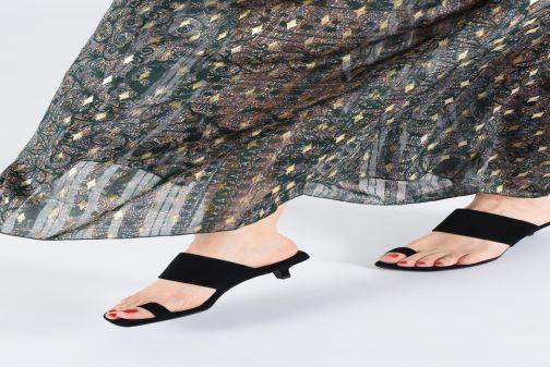 Clogs & Pantoletten Vagabond Shoemakers Polly 4739-040 schwarz ansicht von unten / tasche getragen