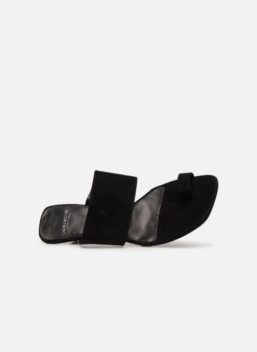 Zuecos Vagabond Shoemakers Polly 4739-040 Negro vista lateral izquierda