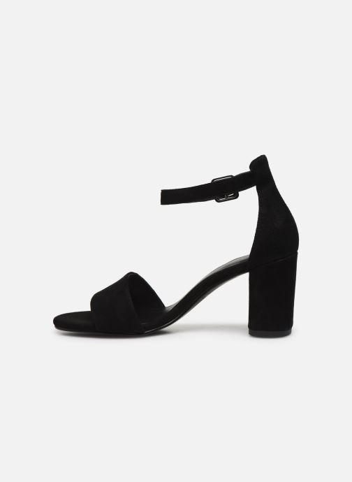 Sandalen Vagabond Shoemakers Penny 4738-040 schwarz ansicht von vorne