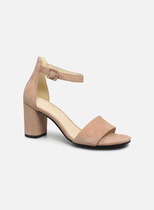 Sandalias Vagabond Shoemakers Penny 4738-040 Beige vista de detalle / par
