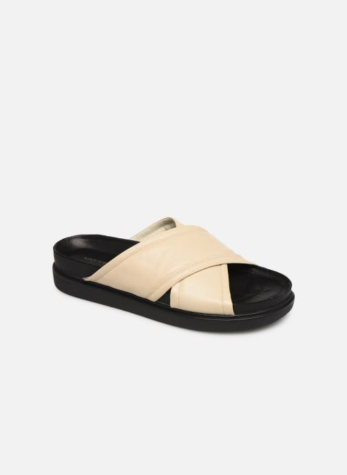 Zuecos Vagabond Shoemakers Erin 4732-201 Beige vista de detalle / par