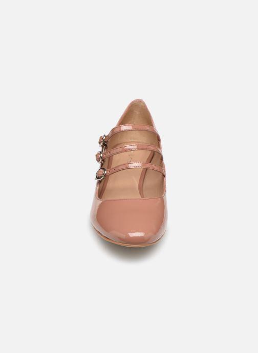 Escarpins Nat & Nin FUERTE Rose vue portées chaussures