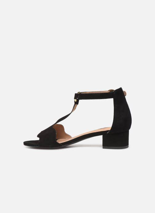 Sandales et nu-pieds Nat & Nin GHIZO Noir vue face