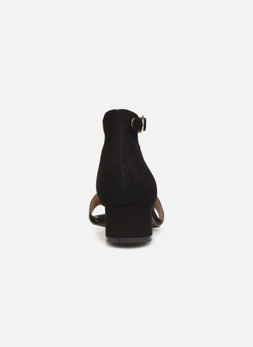 Sandales et nu-pieds Nat & Nin GHIZO Noir vue droite