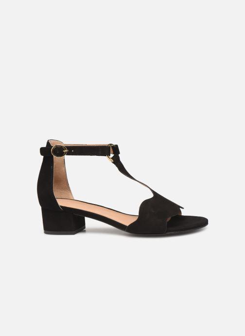 Sandales et nu-pieds Nat & Nin GHIZO Noir vue derrière
