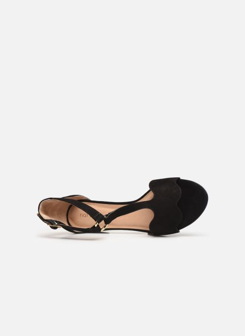 Sandalen Nat & Nin GHIZO Zwart links