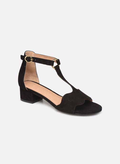 Sandales et nu-pieds Nat & Nin GHIZO Noir vue détail/paire