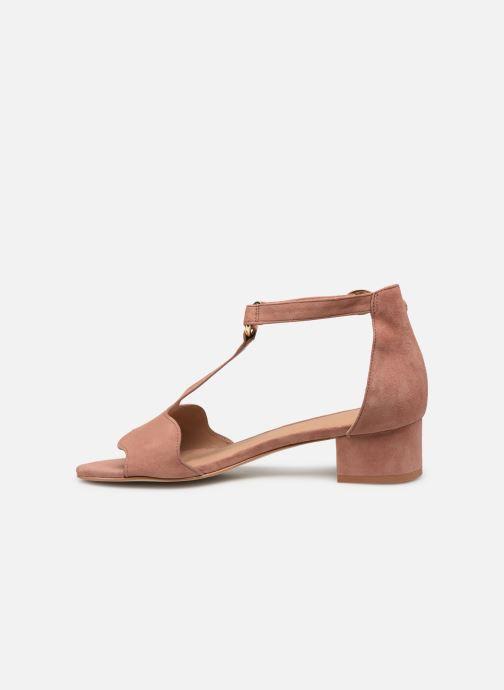 Sandales et nu-pieds Nat & Nin GHIZO Rose vue face