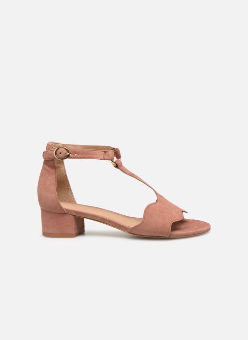 Sandales et nu-pieds Nat & Nin GHIZO Rose vue derrière