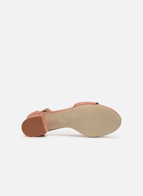 Sandales et nu-pieds Nat & Nin GHIZO Rose vue haut