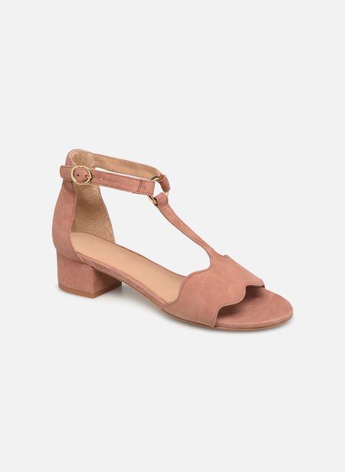 Sandales et nu-pieds Nat & Nin GHIZO Rose vue détail/paire