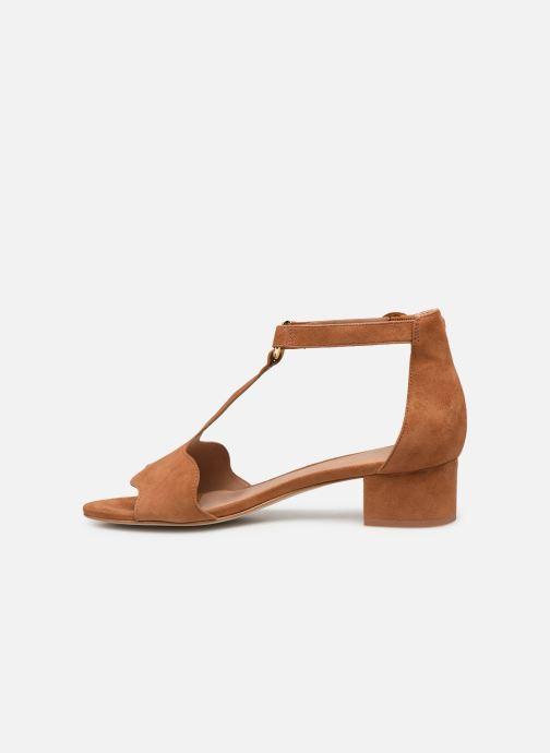 Sandales et nu-pieds Nat & Nin GHIZO Marron vue face