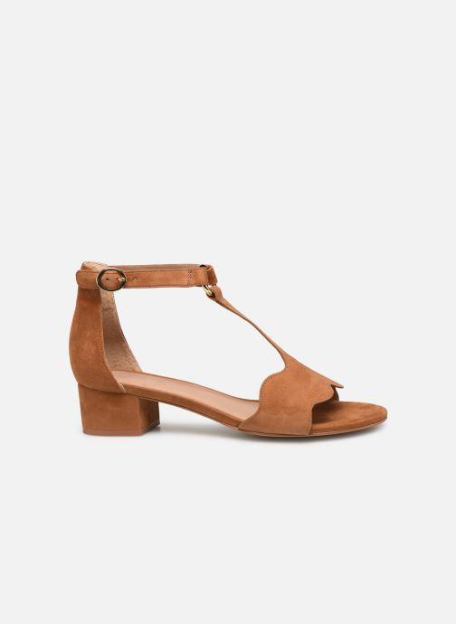 Sandales et nu-pieds Nat & Nin GHIZO Marron vue derrière