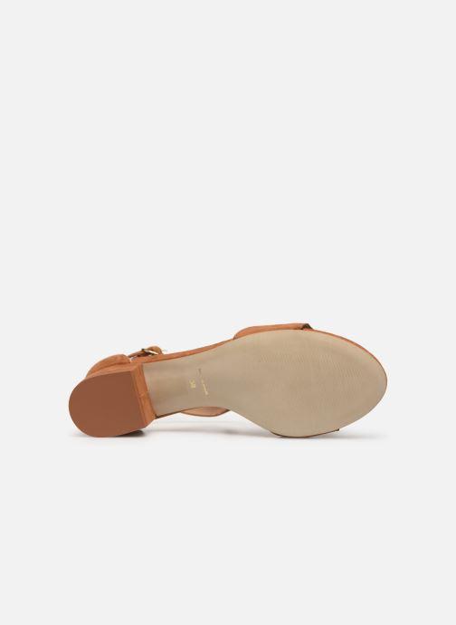 Sandales et nu-pieds Nat & Nin GHIZO Marron vue haut